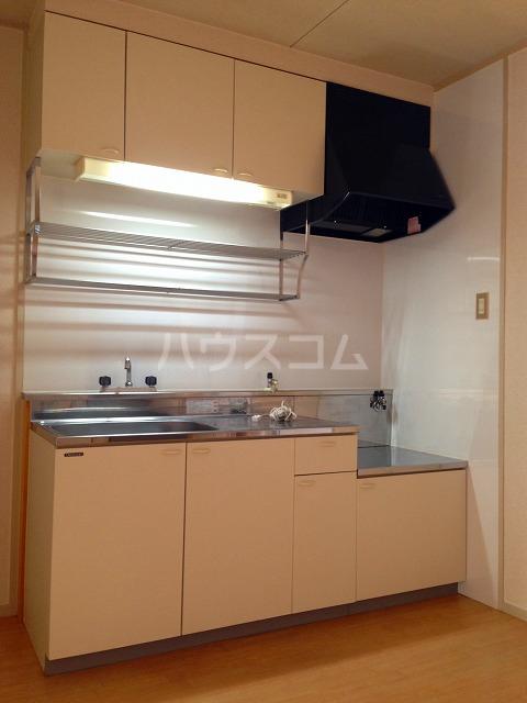 コーポ栄 202号室のキッチン