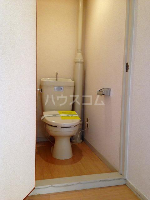 コーポ栄 202号室のトイレ