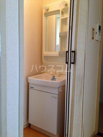 コーポ栄 202号室の洗面所