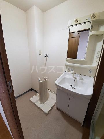 スカイパレス山之手 201号室の洗面所