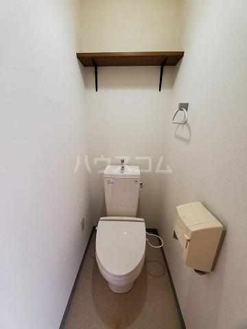 スカイパレス山之手 201号室のトイレ
