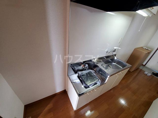 スカイパレス山之手 201号室のキッチン