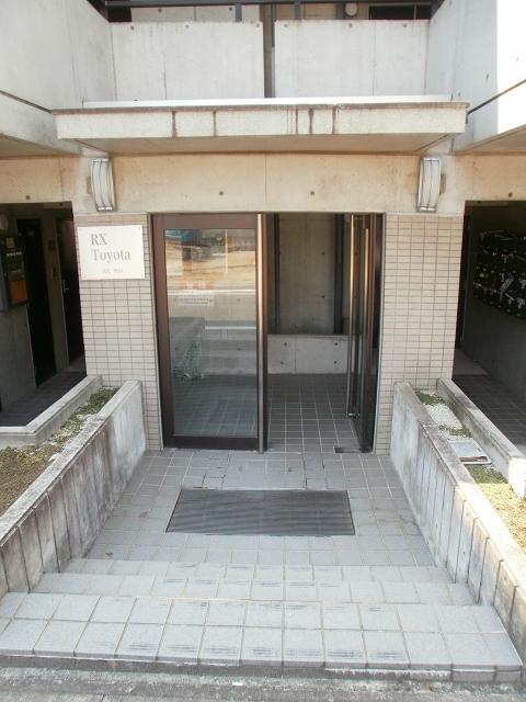 RX豊田 401号室のエントランス