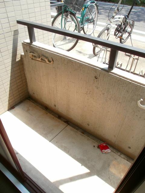 RX豊田 401号室のバルコニー
