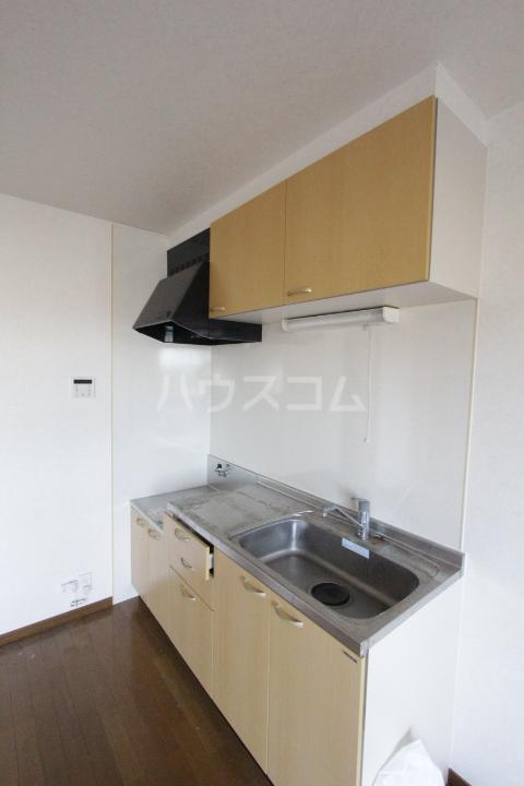 サンハイム堤 202号室のキッチン