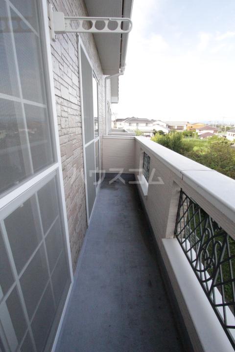 サンハイム堤 202号室のバルコニー