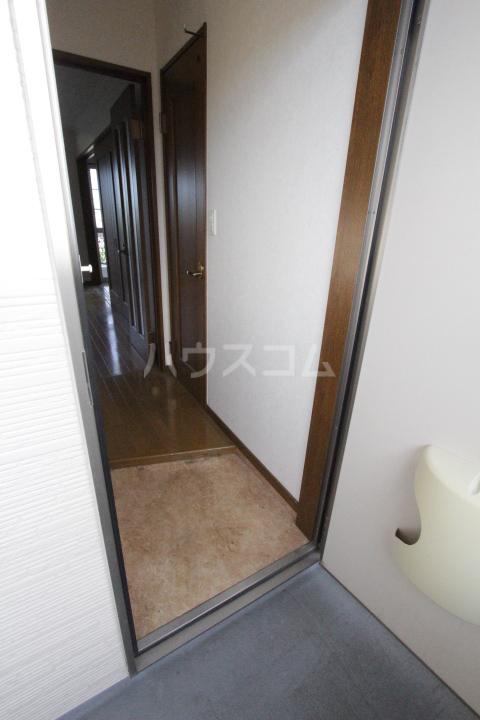 サンハイム堤 202号室の玄関