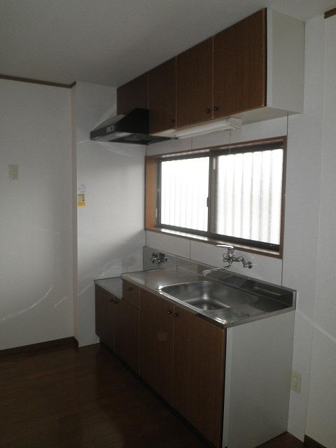 サンエール池の上 A棟 201号室のキッチン