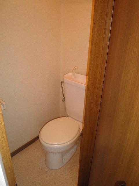 サンエール池の上 A棟 201号室のトイレ