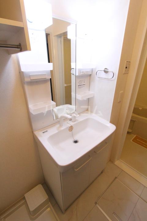 D-roomサンヒルズ B 207号室の洗面所