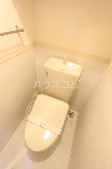 D-roomサンヒルズ B 207号室のトイレ