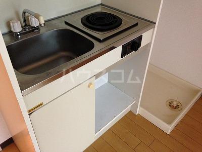 A-Flat 404号室のキッチン