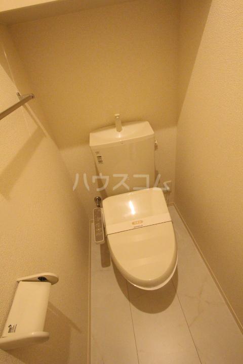 ロイヤル ストーン 201号室のトイレ