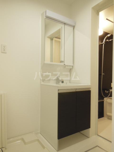ヴィラ山之手 202号室の洗面所