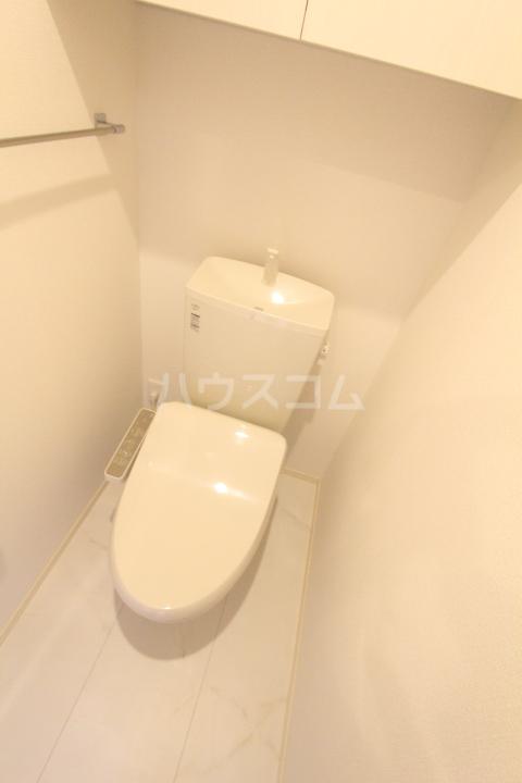 サンシャインヒルズ上挙母 302号室のトイレ