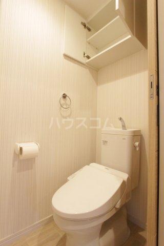 ディアコート 201号室のトイレ