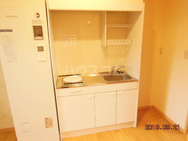 テラ・メゾン A棟 210号室のキッチン
