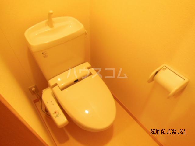 テラ・メゾン A棟 210号室のトイレ