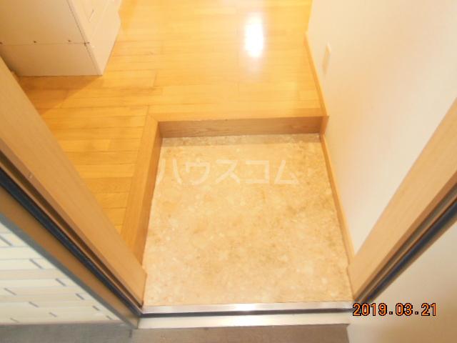 テラ・メゾン A棟 210号室の玄関