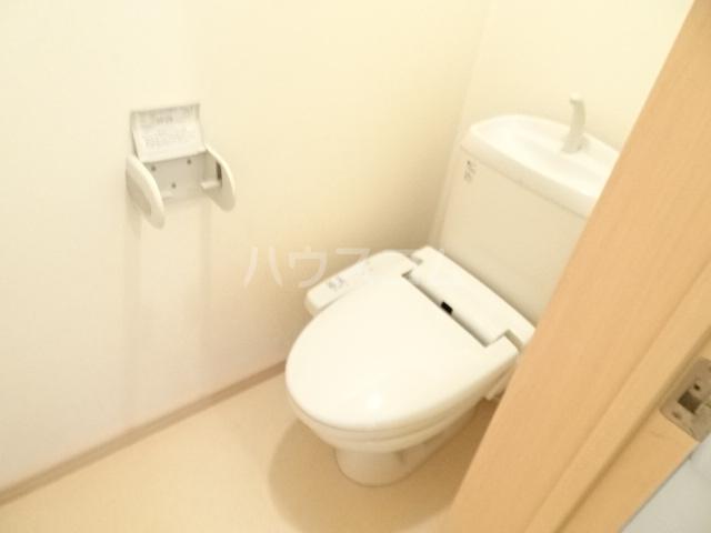 テラ・メゾン B棟 203号室のトイレ