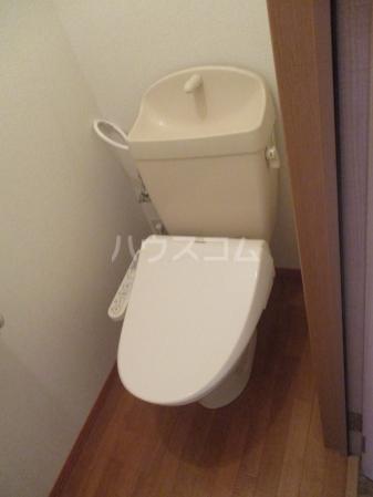 レジデンス大岡 102号室のトイレ