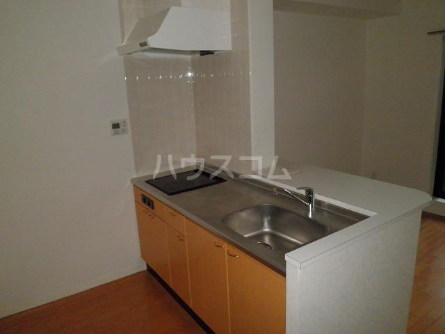 ANSER 303号室のキッチン