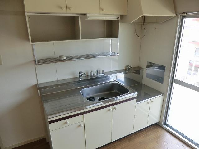 ハピネス緑 102号室のキッチン