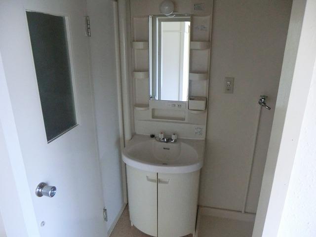 ハピネス緑 102号室の洗面所