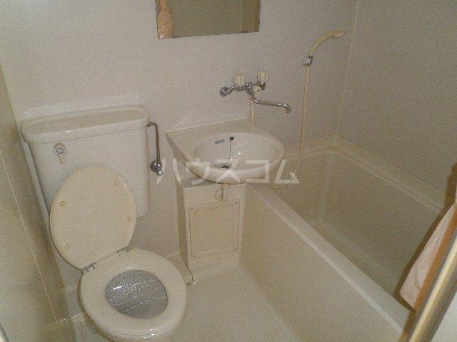 アンフィニいぶき 202号室のトイレ