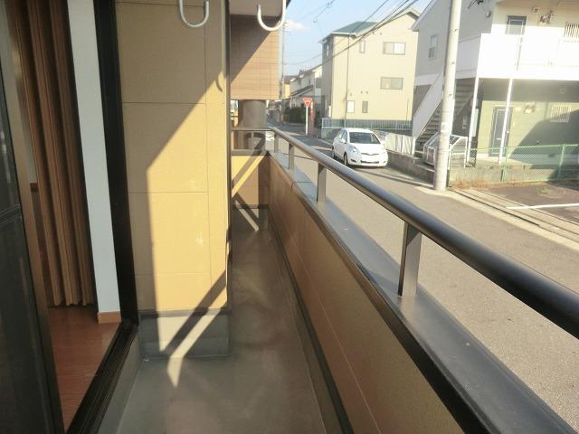 タウニー新安城B 202号室のバルコニー