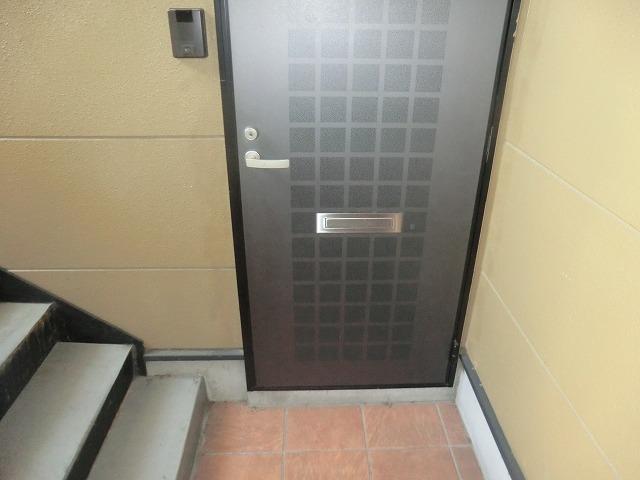 タウニー新安城B 202号室の玄関