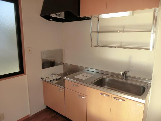 レジデンス大岡B 102号室のキッチン