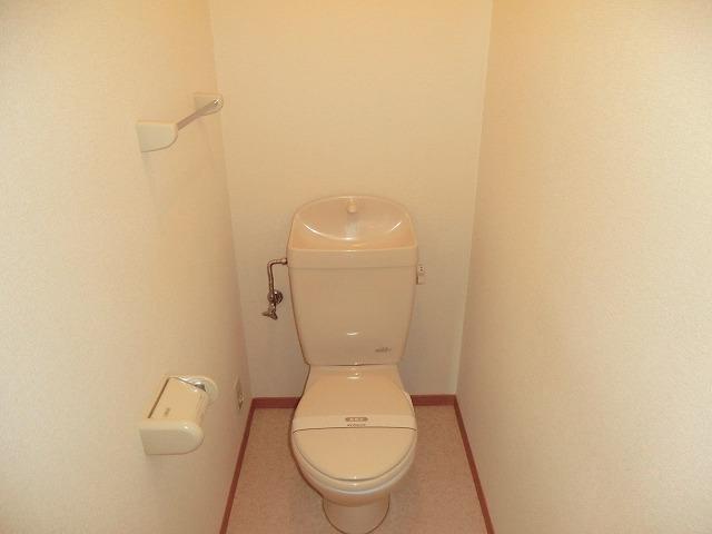 レジデンス大岡B 102号室のトイレ