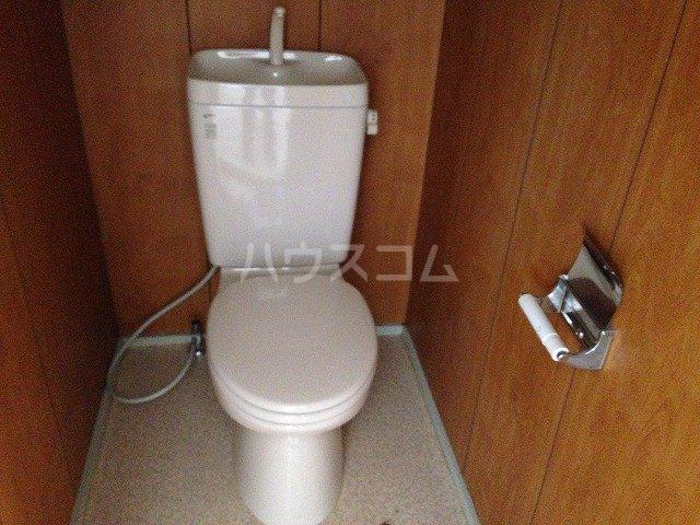 ハイツ若草 B棟 203号室のトイレ