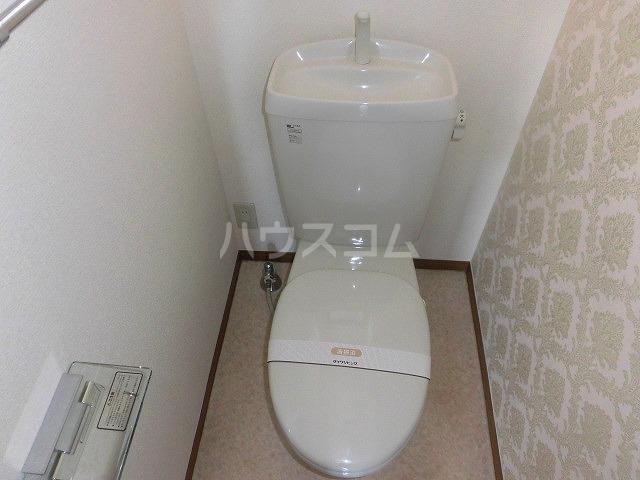 ルミエール植出 202号室のトイレ