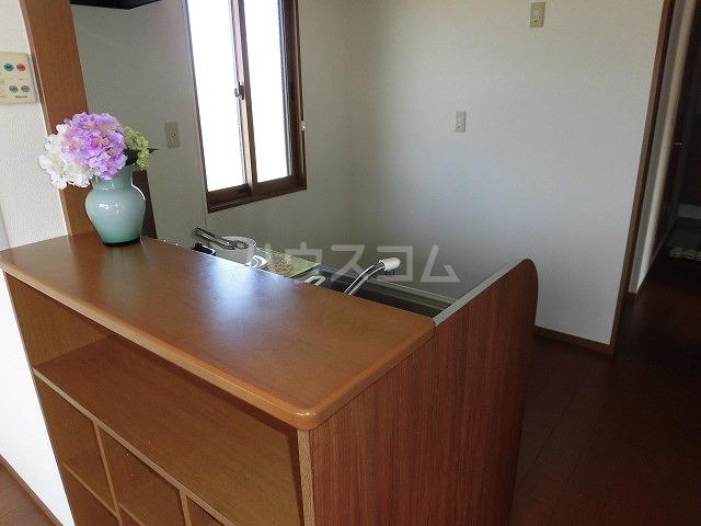 ルミエール植出 202号室のキッチン