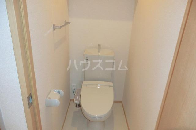 シャルマン ヴィー B 202号室のトイレ