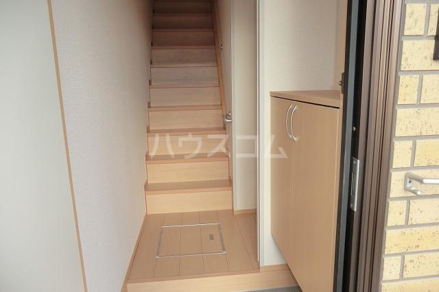 シャルマン ヴィー B 202号室の玄関