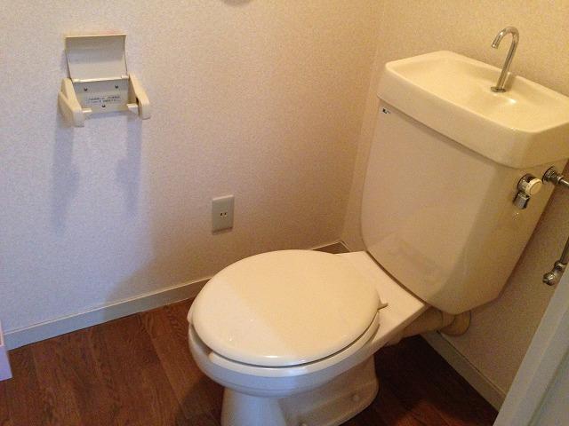 第二大嶽ビル 401号室のトイレ