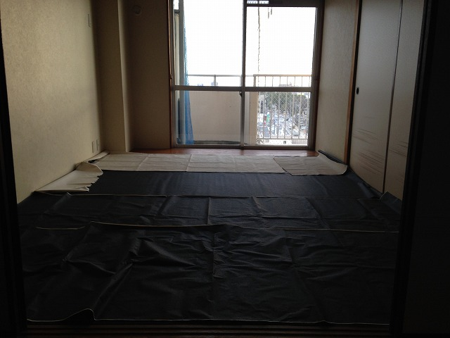 第二大嶽ビル 401号室のリビング
