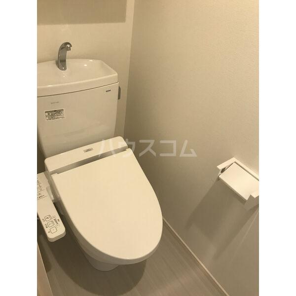 アリビオ今池 102号室のトイレ