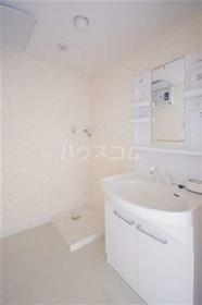 ボン・ナテュール 202号室の洗面所