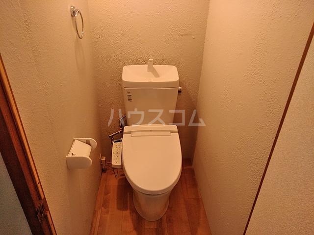 コーポあけぼの 201号室のトイレ