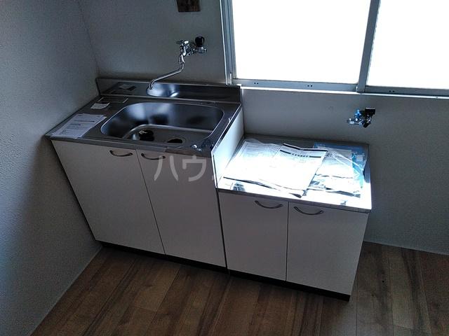 コーポあけぼの 201号室のキッチン