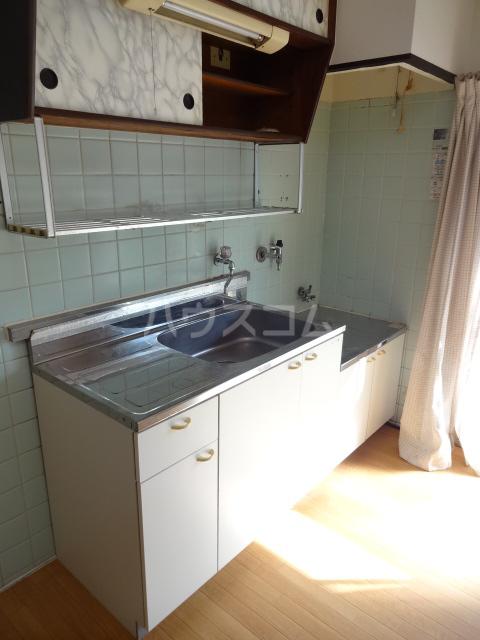リバーハイム習志野台 130号室のキッチン