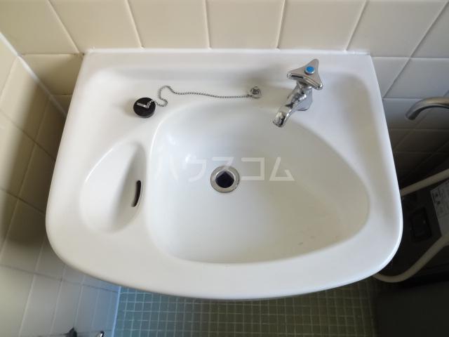 リバーハイム習志野台 130号室の洗面所