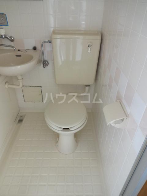 セブンハイツ船橋 203号室のトイレ