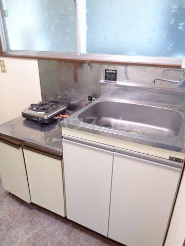 宇野コーポ 203号室のキッチン