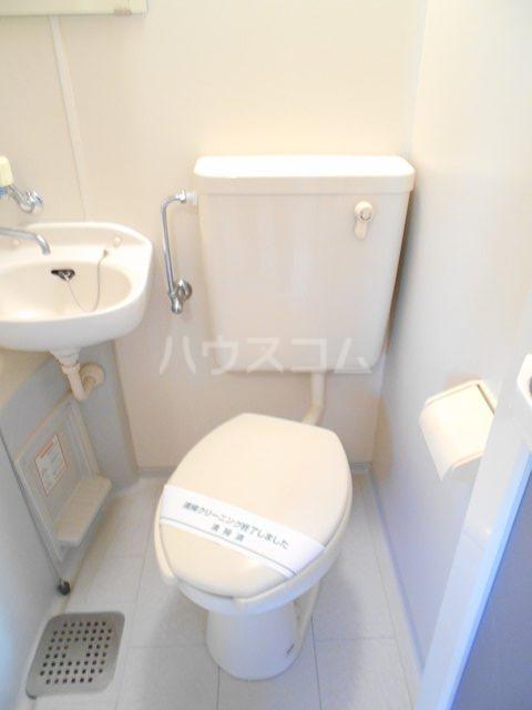 プチメゾンミカドⅡ 103号室のトイレ
