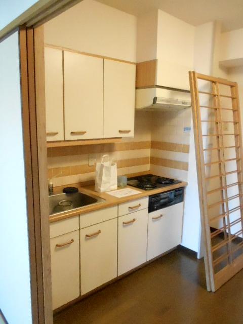 第26明智ビル 302号室のキッチン